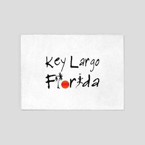 Key Largo Florida 5'x7'Area Rug
