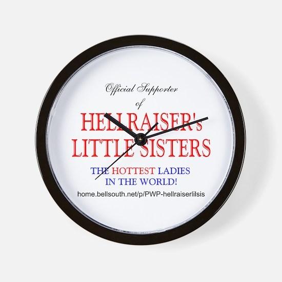 HELLRAISER's LITTLE SISTERS Wall Clock