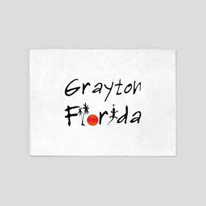Grayton Florida 5'x7'Area Rug