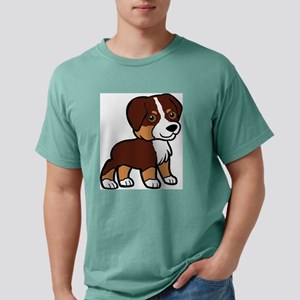 miniature australian shepherd red tri cartoon T-Sh