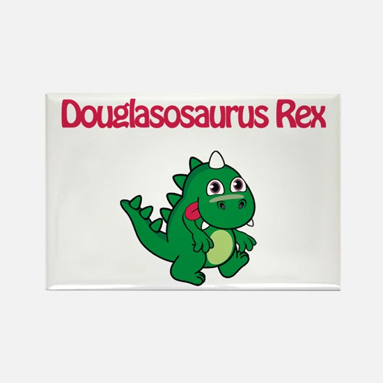Douglasosaurus Rex Rectangle Magnet