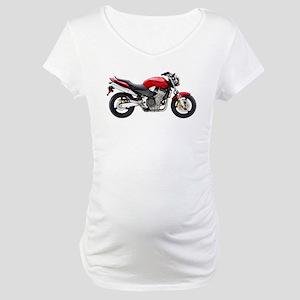 Honda 919 Motorbike Red 2007 Maternity T-Shirt