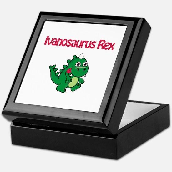 Ivanosaurus Rex Keepsake Box