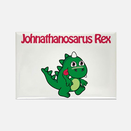 Johnathanosaurus Rex Rectangle Magnet