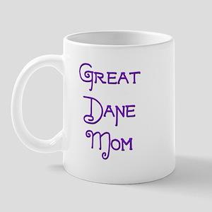 Great Dane Mom 3 Mug