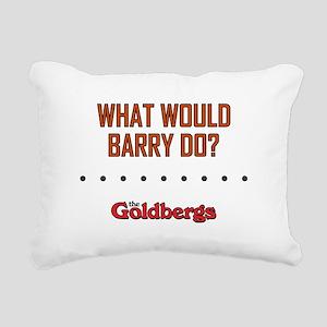 WWBD? Rectangular Canvas Pillow