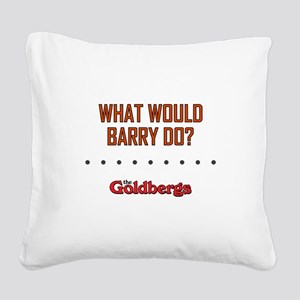 WWBD? Square Canvas Pillow