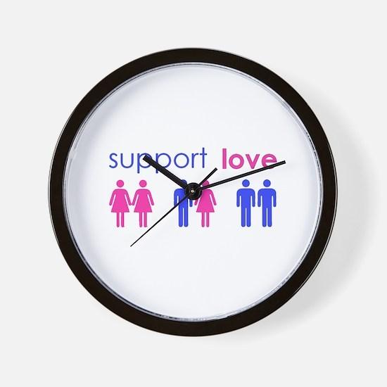 Cute Gay sex Wall Clock