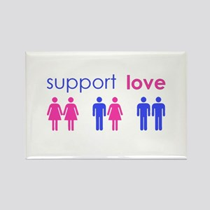 support love and equality Magnets