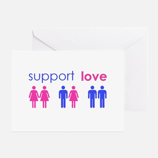 Cool Equality Greeting Card