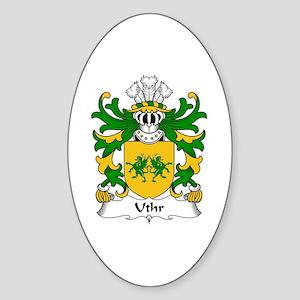 Uthr (PENDRAGON, Father of King Arhtur) Sticker (O