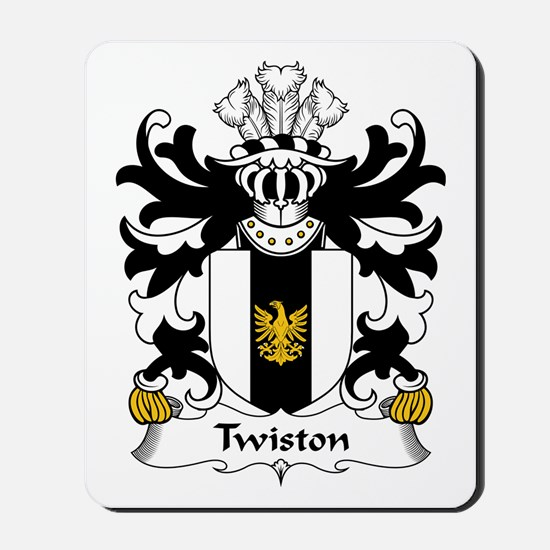 Twiston (of Denbighshire) Mousepad