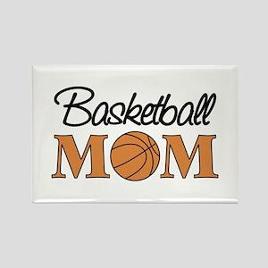 Basketball Mom Rectangle Magnet