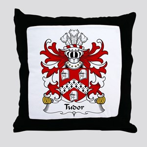Tudor (from Owain Tudor) Throw Pillow