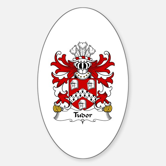 Tudor (from Owain Tudor) Oval Decal