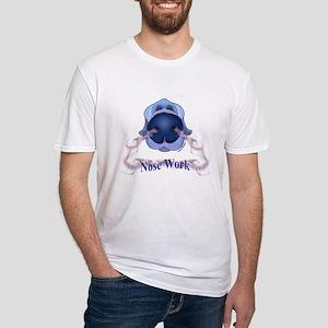 Mens Light Grey Nose Work Tee T-Shirt