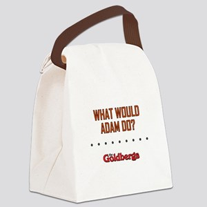 WWAD? Canvas Lunch Bag