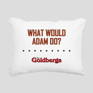 WWAD? Rectangular Canvas Pillow
