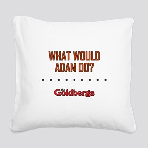 WWAD? Square Canvas Pillow