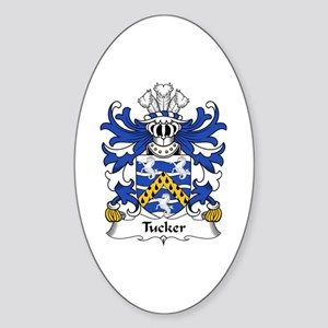Tucker (of Sealyham, Pembrokeshire) Oval Sticker