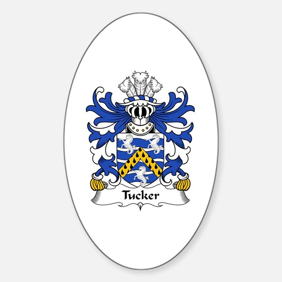 Tucker (of Sealyham, Pembrokeshire) Oval Decal