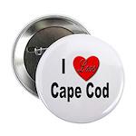 I Love Cape Cod Button