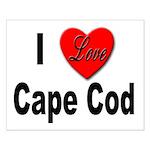 I Love Cape Cod Small Poster