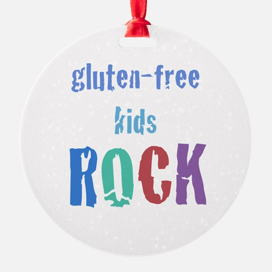 Gluten-Free Kids Rock! Ornament