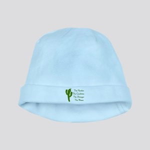 Harsh Conditions Strong Woman Baby Hat