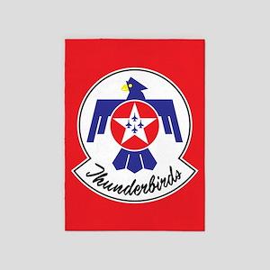 Air Force Thunderbirds 5'x7'area Rug