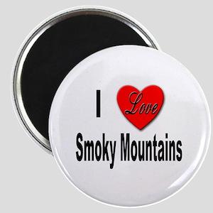 I Love Smoky Mountains Magnet