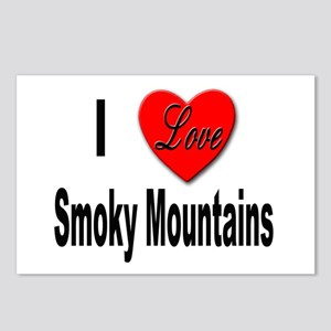 I Love Smoky Mountains Postcards (Package of 8)