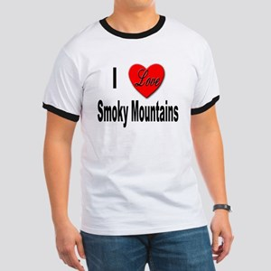 I Love Smoky Mountains (Front) Ringer T