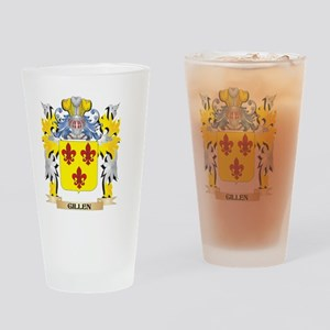 Gillen Coat of Arms - Family Crest Drinking Glass