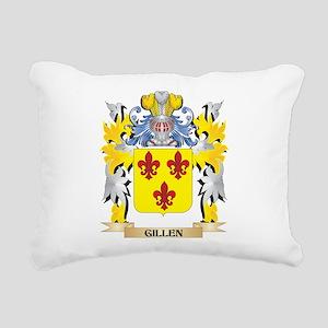 Gillen Coat of Arms - Fa Rectangular Canvas Pillow