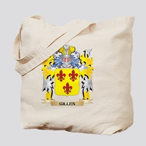 Gillen Coat of Arms - Family Crest Tote Bag
