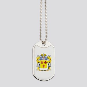 Gillen Coat of Arms - Family Crest Dog Tags