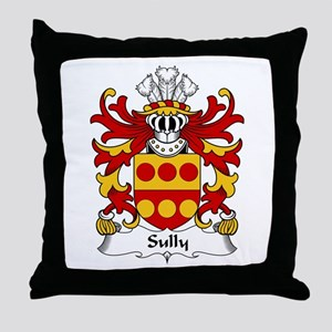 Sully (of Glamorganshire) Throw Pillow
