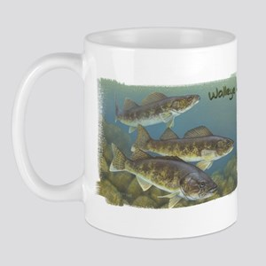 Walleye, Fish Mug