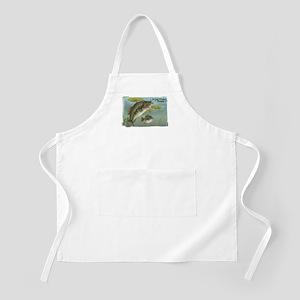 Largemouth Bass, Fish BBQ Apron