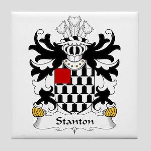 Stanton (or STAUNTON, Pembrokeshire) Tile Coaster