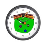Game Room Wall Clock