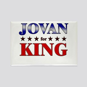 JOVAN for king Rectangle Magnet
