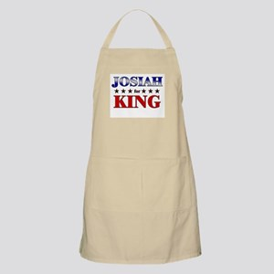 JOSIAH for king BBQ Apron