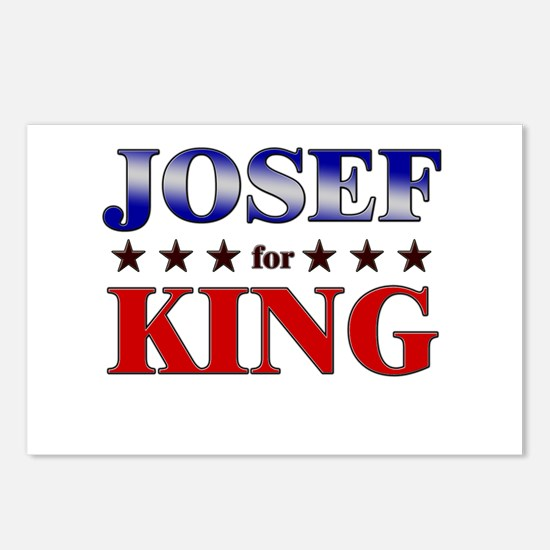 JOSEF for king Postcards (Package of 8)
