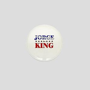 JORGE for king Mini Button