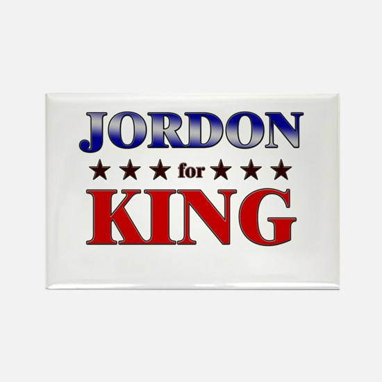 JORDON for king Rectangle Magnet