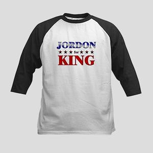 JORDON for king Kids Baseball Jersey