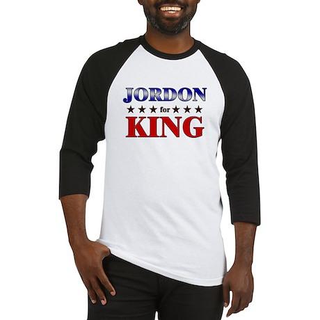 JORDON for king Baseball Jersey