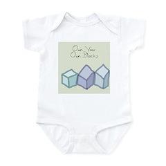 Own Your Own Blocks Infant Bodysuit